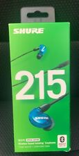 Shure SE215SPE-B-BT1 Blue Special Edition Isolating Earphones wireless Bluetooth