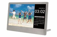 "Sylvania SDPF7977 7"" Digital Photo Frame Clock Calander - USB/SD/SDHC"