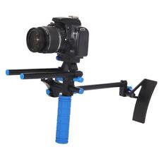 DSLR Shoulder Mount Support With Adjustable 15mm Rail Rods And Handgrip