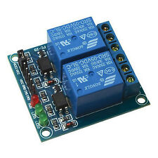 2 Channel DC 5V High level trigger Relay Module for PIC ARM AVR DSP MCU Arduino