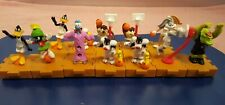 Mixed lot of 12 McDonald`s Happy Meal 1996 Space Jam Basketball Toy Figures