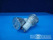 FARETTO LAMPADA LED GU10 MR16 COB 5 LED 5W 220V FREDDA CALDA NATURALE