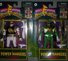 Mighty Morphin Power Rangers Retro Tommy Lot White And Green NEW SEALED