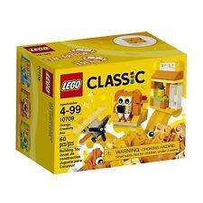 Sealed Lego Classic include 10709 Orange Creativity Box 4 Bricks