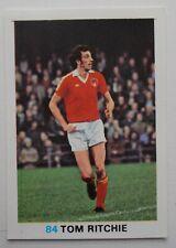 FKS Soccer Stars 1977-1978 NUMBER 84 TOM RITCHIE