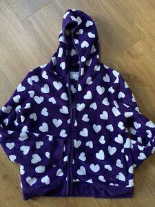 Peter Storm Fleece Age 9/10 Purple Hearts