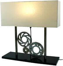 TISCH-Lampe Tisch-Dekoleuchte INDUSTRIAL STYLE 51 x 50 cm Metall + Holz - NEU