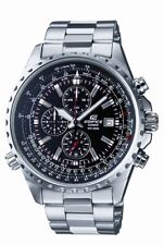 Casio Edifice Men's Quartz Chrono Silver-Tone Bracelet 48mm Watch EF527D-1AV