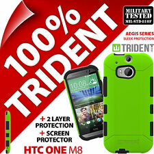 Trident Aegis Protective Case Rugged Cover Screen Protector for HTC One M8