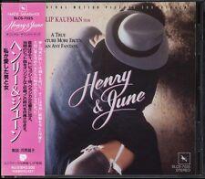 HENRY & JUNE-OST 18tracks Japan CD w/OBI