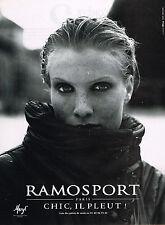 PUBLICITE  ADVERTISING  1998   RAMOSPORT  vetements de pluie impérmables