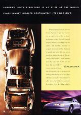 1996 Oldsmobile Aurora - Body - Classic Vintage Advertisement Ad D136