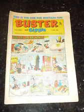 BUSTER & GIGGLE Comic - Date 01/06/1968 - UK Paper comic