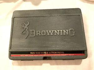 NICE ORIGINAL BROWNING BDM 9mm  PISTOL FACTORY GREY HARD CASE BOX MANUAL & MAG