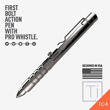 GP 1945 Bolt Action Plus Pen - Machined Titanium High Polished version
