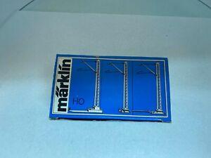 Marklin HO Gauge 7009 M x 10 Catenary System Boxed - Like New