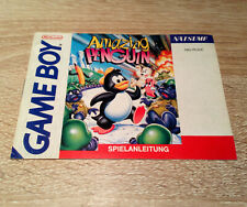 Nintendo Gameboy (GB) // Amazing Penguin - Anleitung/Instructions // dt. PAL