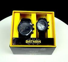 ACCUTIME WATCH CORPORATION BATMAN 2 PIECE FEMALE AND MALE WATCH SET