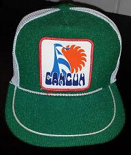 Vintage Cancun Corduroy Snapback Trucker Hat