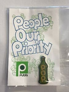 THE Publix Soda POP Pin From The 80's Extra Nice 🍭Sweet ‼️ On Original Card
