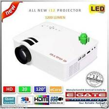 Latest i12 Projector 1200 Lumen with Quad core ANDROID wifi