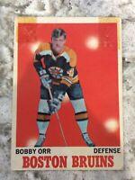 1970-71 OPC O PEE CHEE # 3 Bobby Orr BOSTON BRUINS