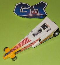 AURORA AFX FURIOUS FUELER DRAGSTER BLUE Slot Car HO Running Chassis