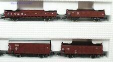 H0 8 tlg. Güterwagen Set DB Roco 44002 neuw. OVP