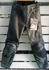 PANTALONI SPIDI P. GRID NERO TG. 50 LEATHER MOTORCYCLE PANTS