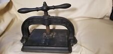 Antique Book Binding Press