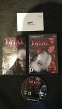 Fatal Frame Project Zero Playstation 2 US-Version NTSC USA fantastic condition