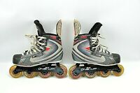 Bauer Vapor XXR Youth Junior Roller Hockey Inline TUUK Skate Sz 4R  5 Shoe Sz