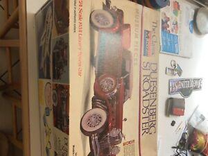 1/24 duesenberg model kit, unused