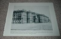 1892 Antique Photograph Print WINTER PALACE ST PETERSBURG RUSSIA Salle Blanche
