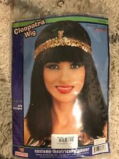 New Cleopatra Black Costume Wig