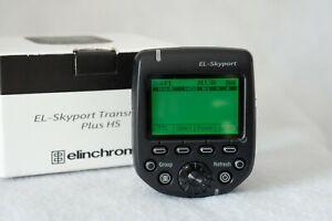 Elinchrom El-Skyport Transmitter Plus HS( Model ELSP- HS) Code 19367 -Excellent