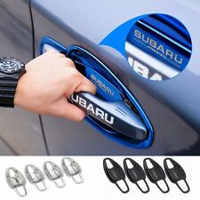 3 colors 8pcs STAINLESS STEEL Door Handle Covers Door Bowl for Subaru Forester