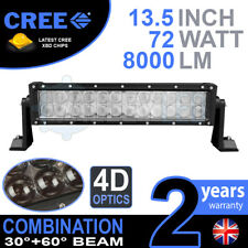 "4D 13 INCH 13"" 72W CREE LED LIGHT BAR DEFENDER NEVARA JEEP L200 HILUX DISCOVERY"