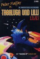 "PETER MAFFAY ""TABALUGA UND LILLI LIVE"" 2 DVD NEU"