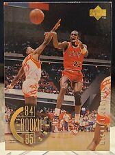 MICHAEL JORDAN 1995-96 Upper Deck UD #137 84-85 Rookie Years CHICAGO BULLS NRMT