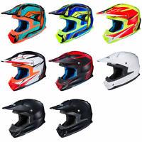HJC FG-MX Offroad Motorcycle Motocross  Helmet DOT & Snell - Pick Size & Color