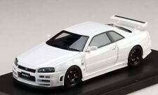 Mark43 1/43 Nissan NISMO R34 Skyline GT-R S Tune S1 1999 White RESIN 4301NW