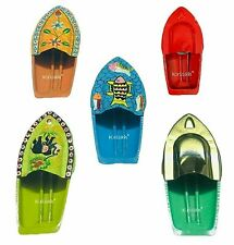 5 Put Putt Pop Boat Combo- Animal, Flower, Plain, Painted and Fish Design