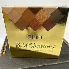 Milani Eyeshadow Palette Bold Obsessions 02 New In Box