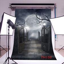 Halloween Theme Vinyl Photography Backdrop Background Studio Prop 10X10FT TH158