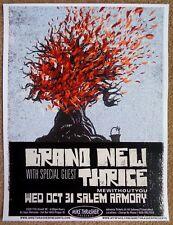 BRAND NEW w/ JESSE LACEY 2007 Gig POSTER Salem Oregon Concert