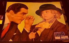 SHIRLEY TEMPLE FABULOUS vintage 1935 ORIGINAL JUMBO LINEN LOBBY CARD CURLY TOP
