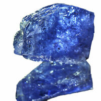 Tanzanite Rough Natural 17.55 Cts Stunning Blue Crystal Huge Sparkling Gemstone