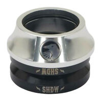 SHADOW CONSPIRACY STACKED INTEGRATED HEADSET BMX BIKE FIT SE HARO SUBROSA SILVER