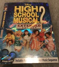 "OFFICIAL *DISNEY DVD O-RING SLIP COVER SLEEVE~ ""HIGH SCHOOL MUSICAL 2"" HOLOGRAM*"